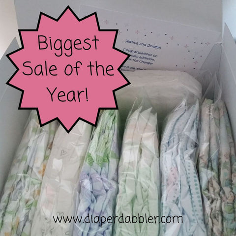 Diaper Sampler Package with Biggest Sale of the Year!