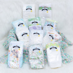 Custom Diaper Sampler Package size 3 | Diaper Dabbler