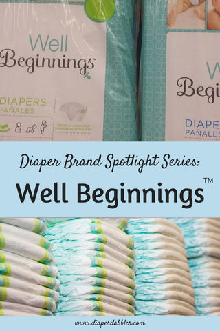 Diaper Brand Spotlight Series: Well Beginnings Pinterest