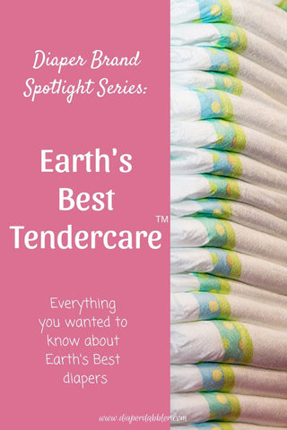 Stack of disposable diapers - Pin for Diaper Brand Spotlight Series: Earth's Best