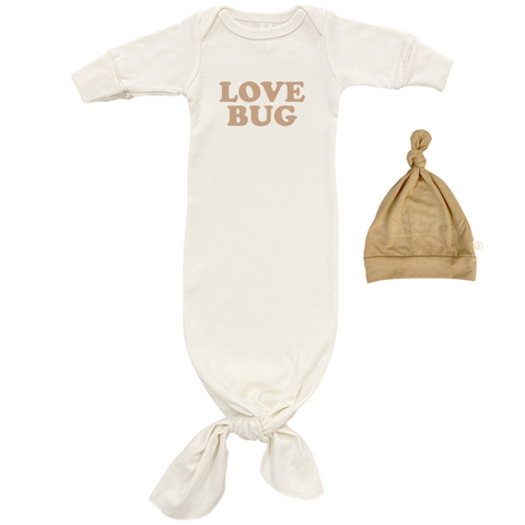 Love Bug Gown + Hat set