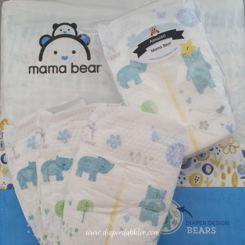 Amazon Mama Bear diapers