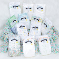 Mega Mom Diaper Sampler Package | Diaper Dabbler