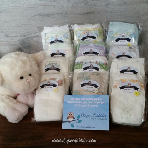 Mega Mom Diaper Variety Package