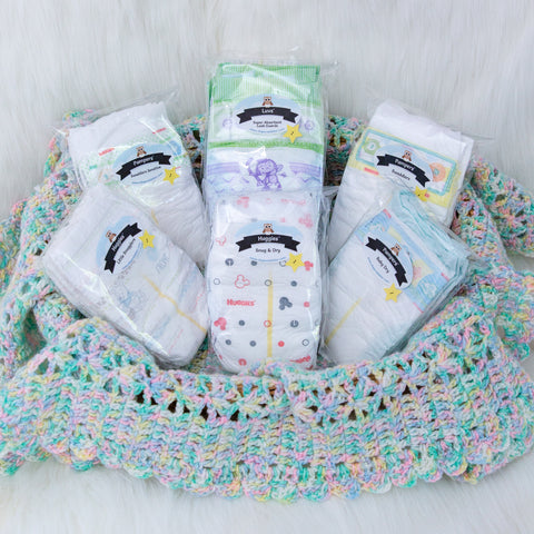 Mommy Mainstream Diaper Sampler Package