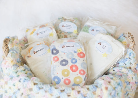 Mother Earth Diaper Sampler Package size 1