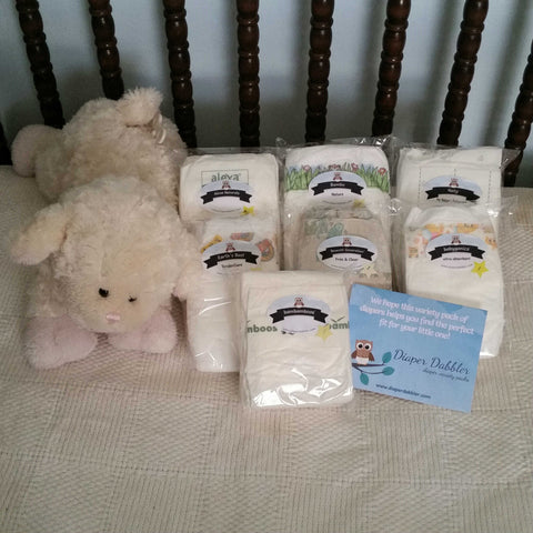 Mother Earth Variety Pack of Eco-Friendly Diaper Samples