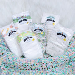 Mother Earth Diaper Sampler Package size 3 | Diaper Dabbler