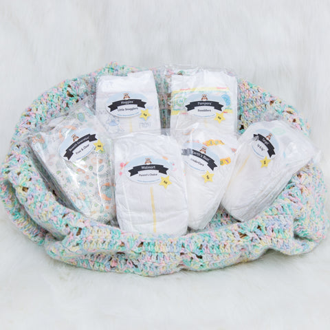 Newborn Babes Diaper Sampler Package