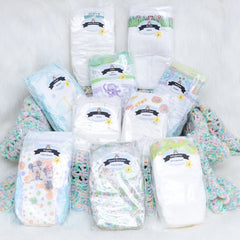 Teetering Toddler Diaper Sampler Package | Diaper Dabbler