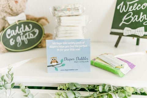 Diaper Dabbler Diaper Sample Packs
