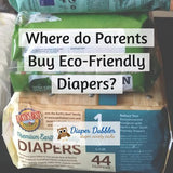 Where do Parents Buy Eco-Friendly Diapers?