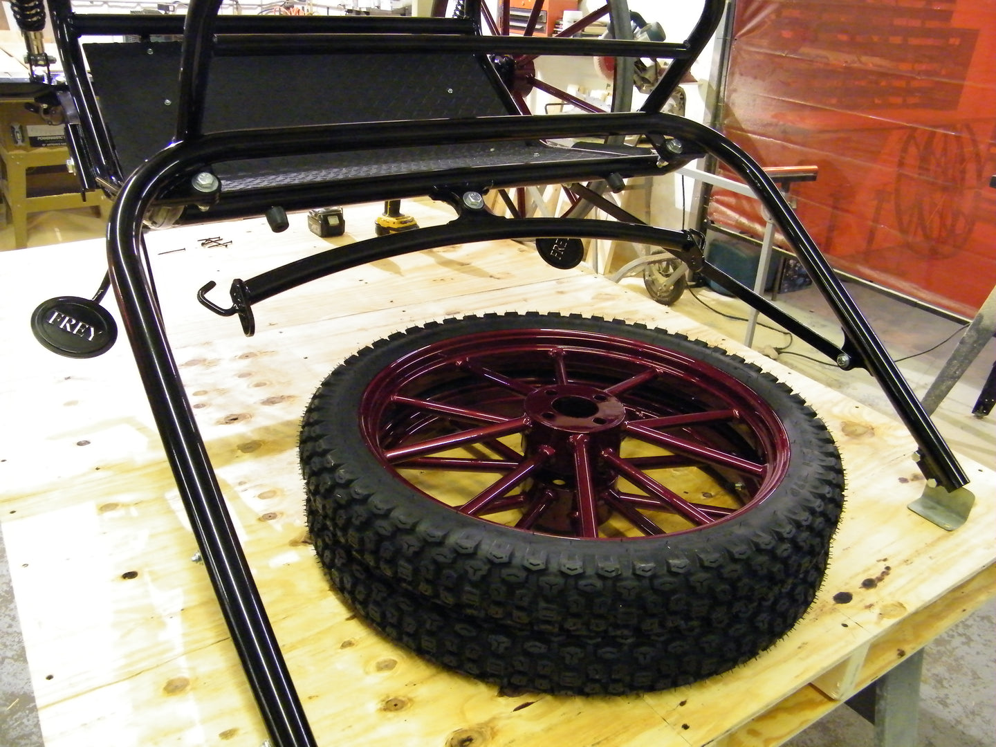 Wheels, Parts and Components