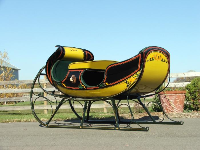Two Seat Albany Sleigh