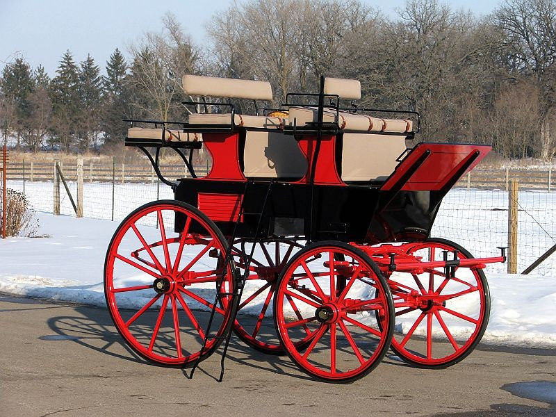 SOLD - Roof Seat Break - Chicago Coach & Carriage