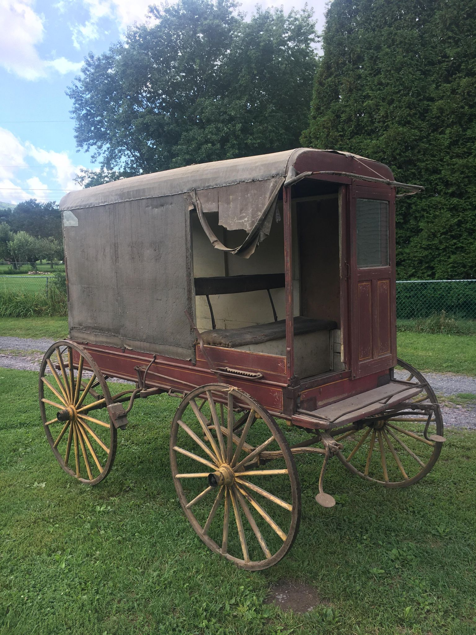 Antique Butcher Wagon