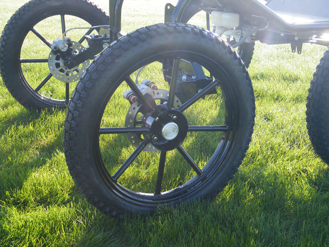 Ray Option - Extreme Pneumatic Wheels - In Addition to