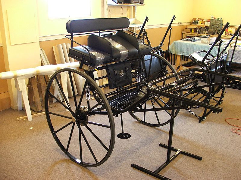 G) Large Horse Size Sprint Cart from