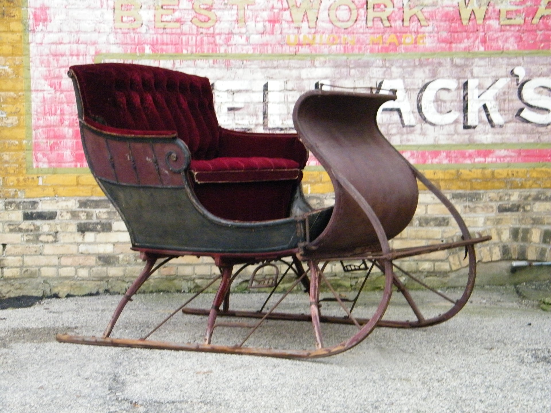 Antique Portland Sleigh