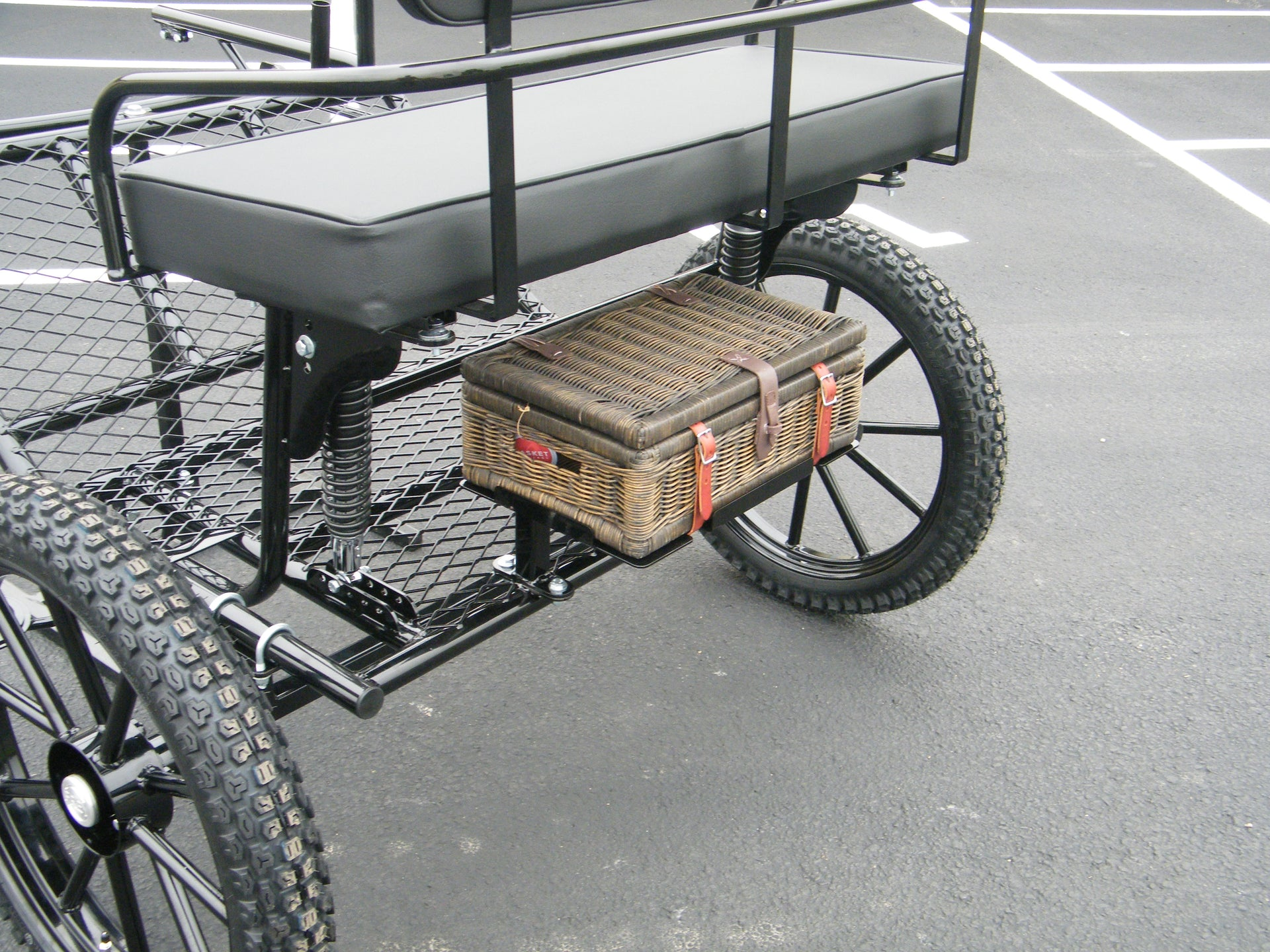 Rebel Option J - Wicker Spares Basket and Mounting Frame