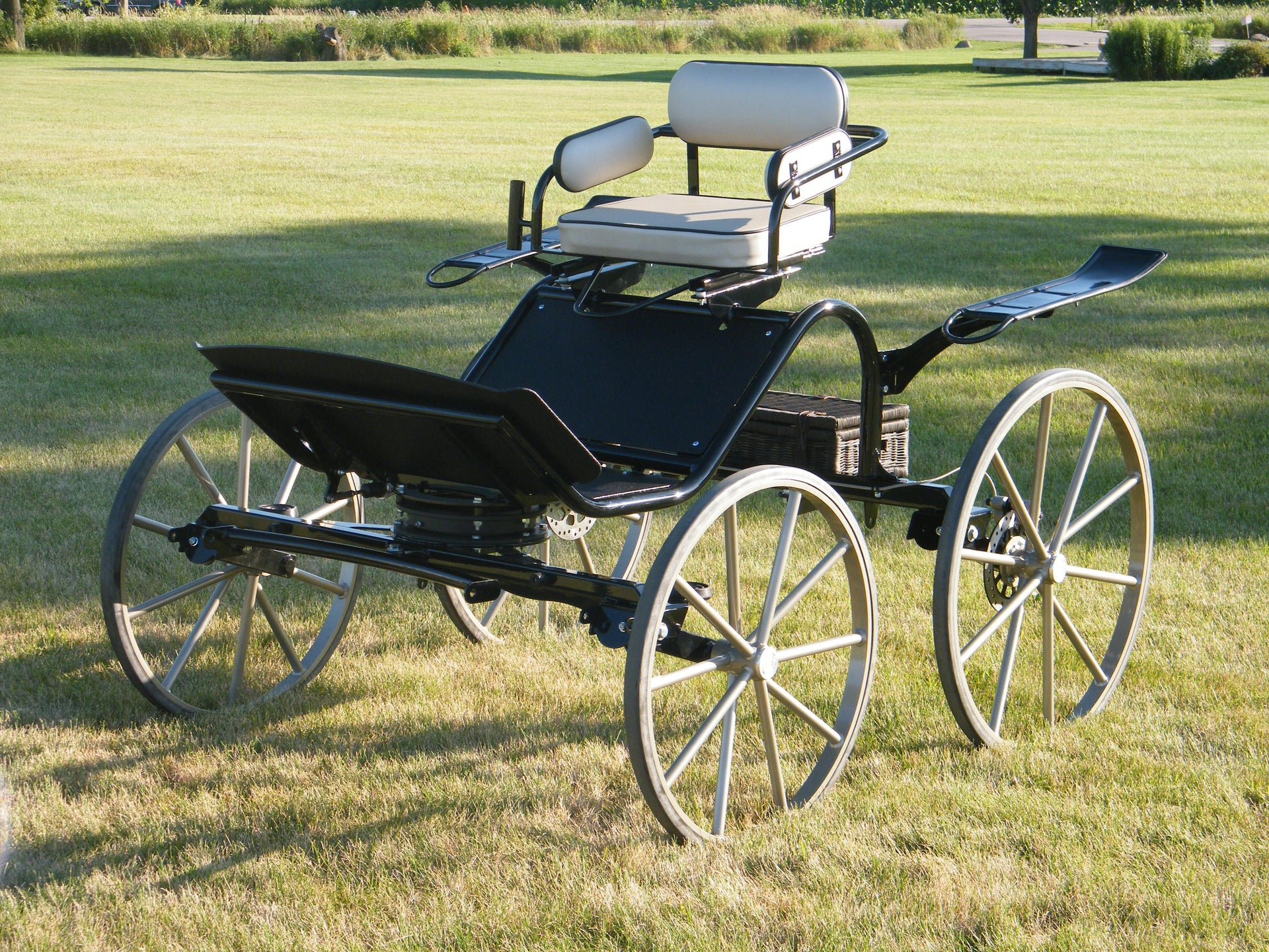 A) Sport Phaeton - Pony - Single Seat Base Model