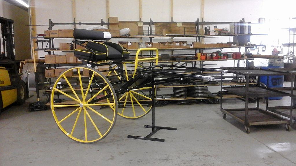 H) Draft Horse Size Sprint Cart from