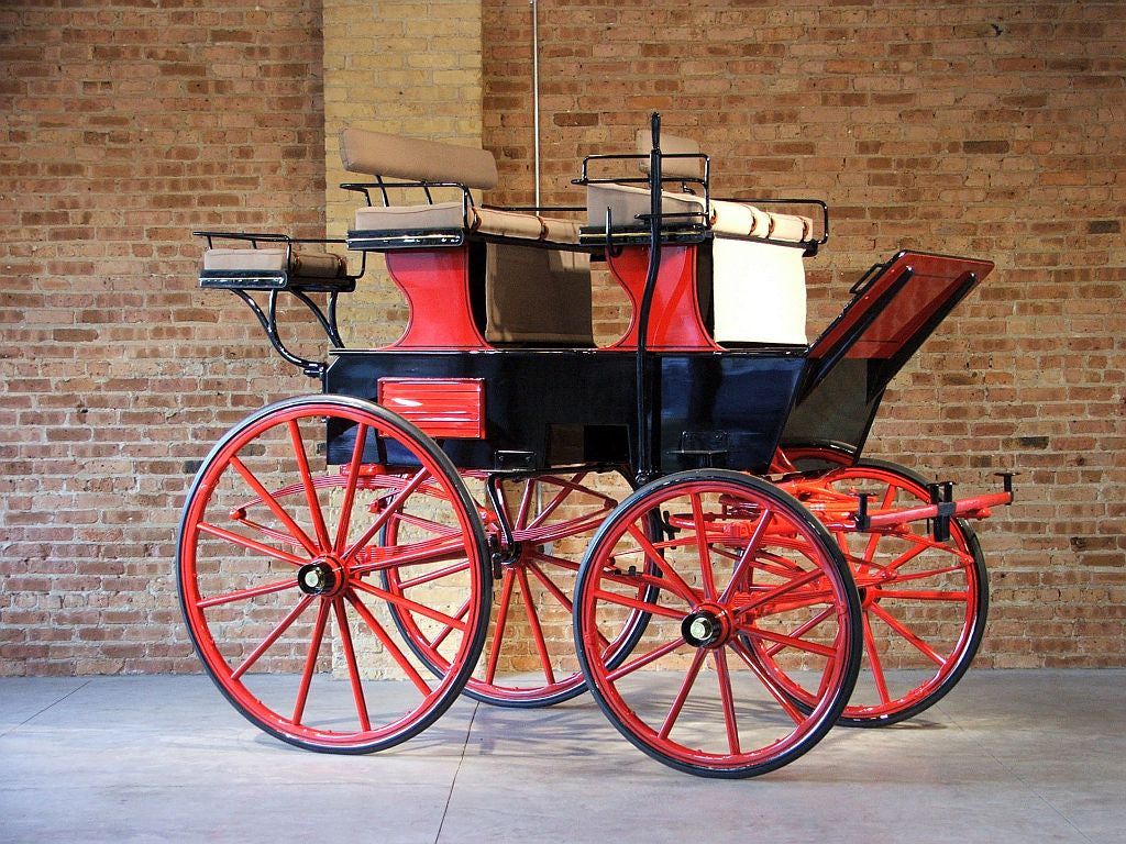 Roof Seat Break - Chicago Coach & Carriage