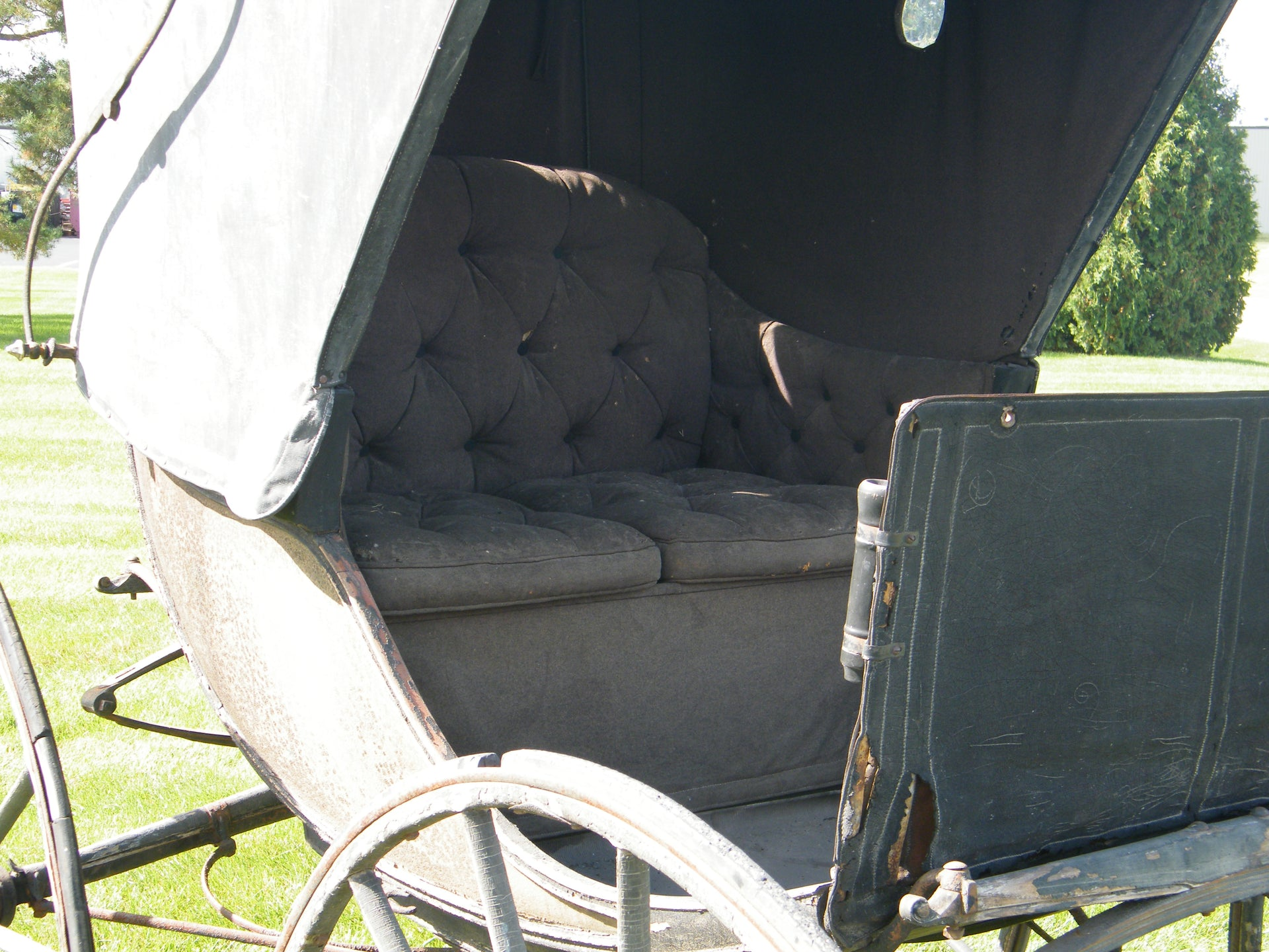 Antique Park Chaise