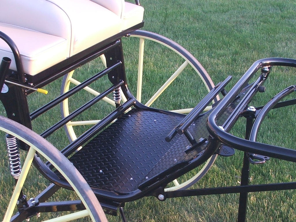 Sprint Option K - Raised Footrest