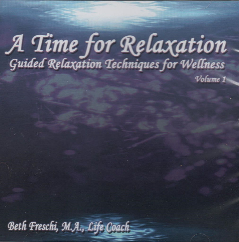 CD - A Time for Relaxation : Guided Relaxation