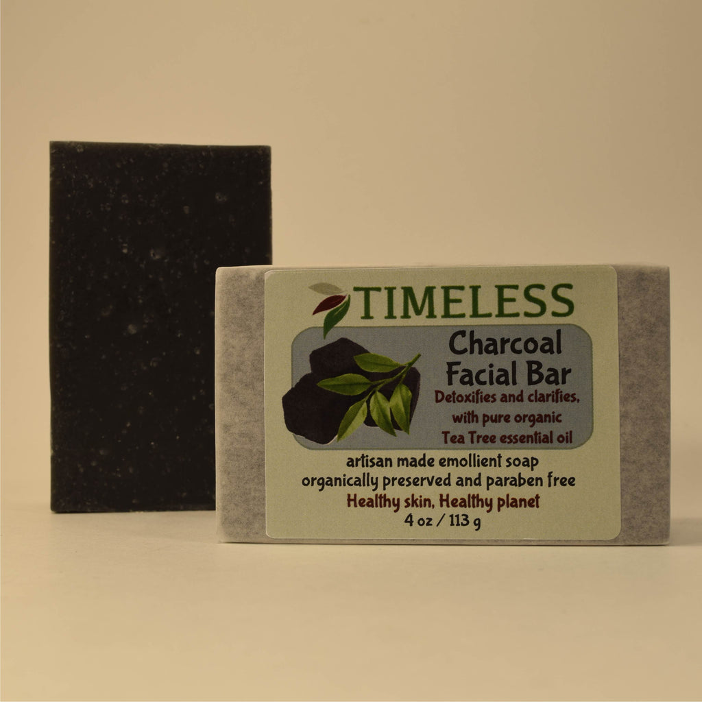 Emollient Bar Soap - Charcoal Facial Bar