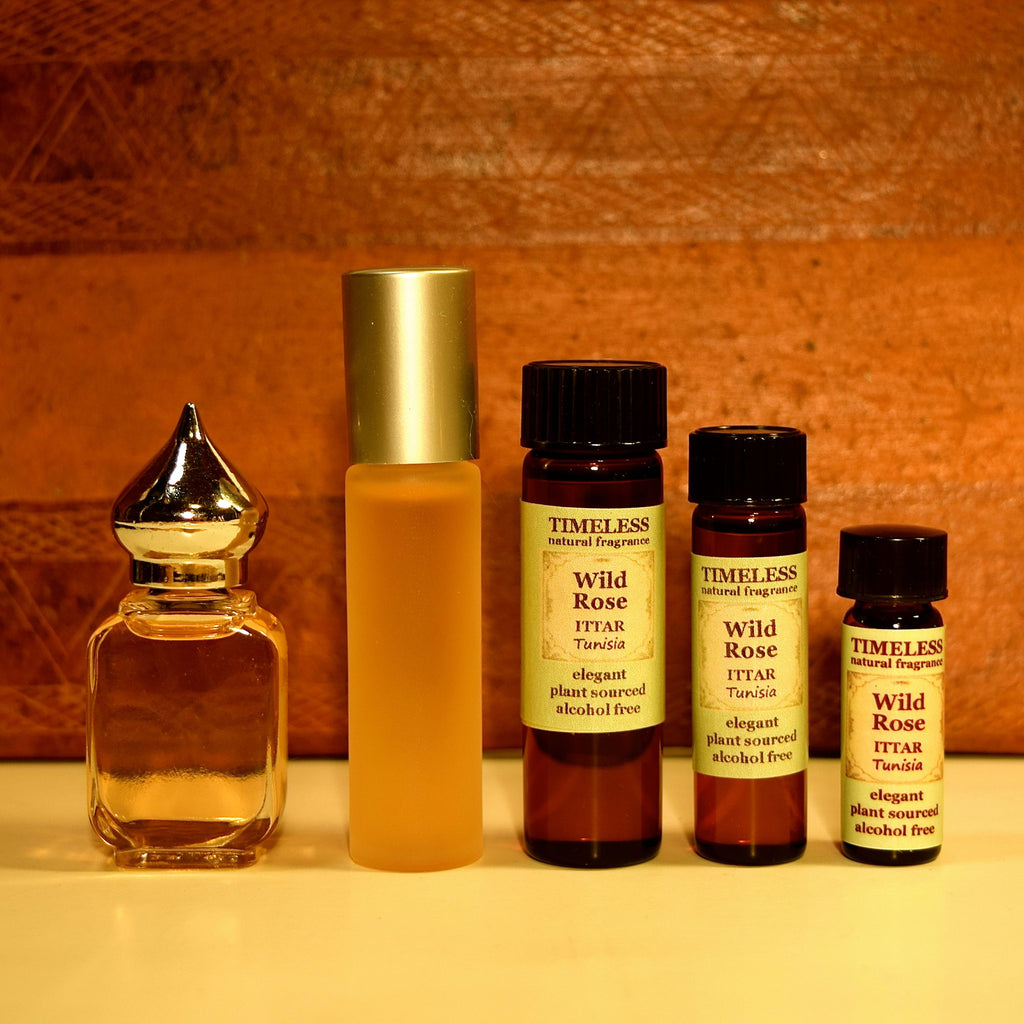Wild Rose Ittar (Attar) - 5 options