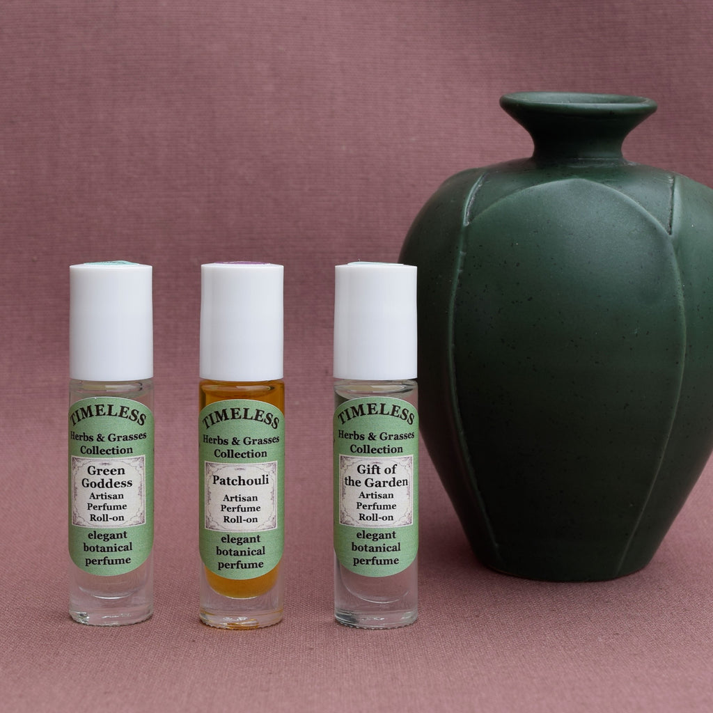 Botanical Roll-on Perfume Collection - Herbs & Grasses