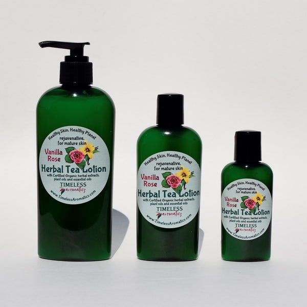 Herbal Tea Lotion - Limited Edition Organic Vanilla Series
