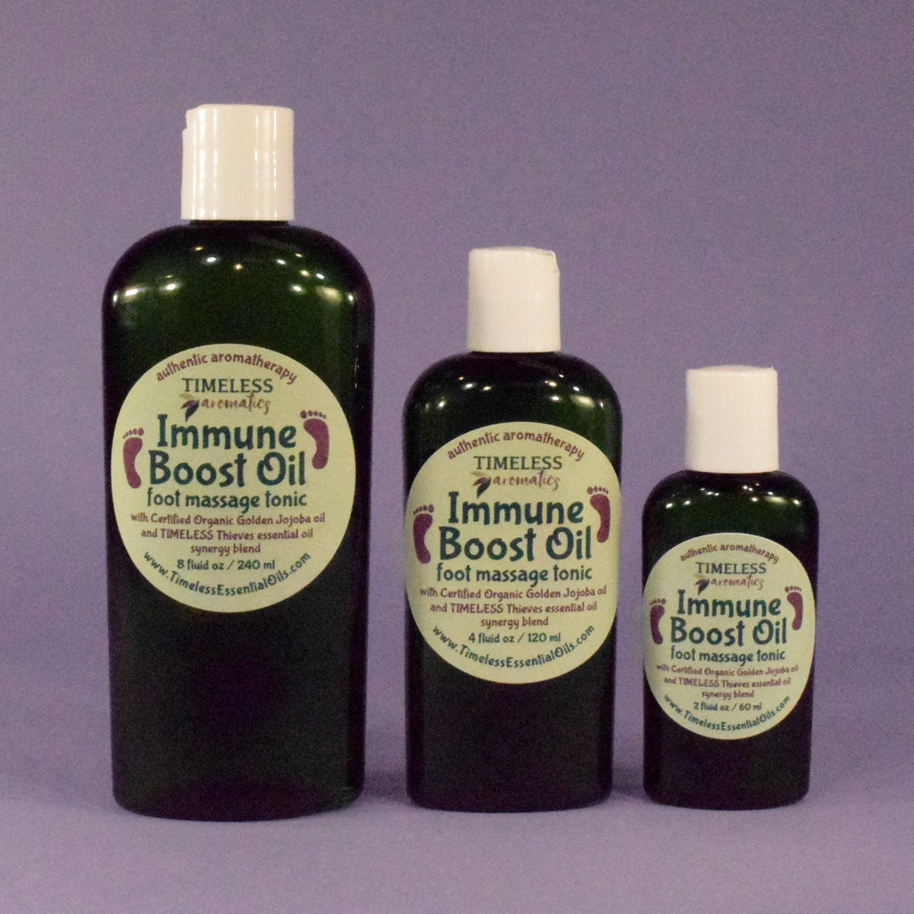 Immune Boost Oil - foot massage tonic