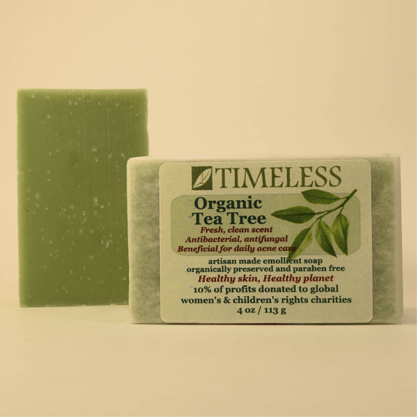 Emollient Bar Soap - Organic Tea Tree
