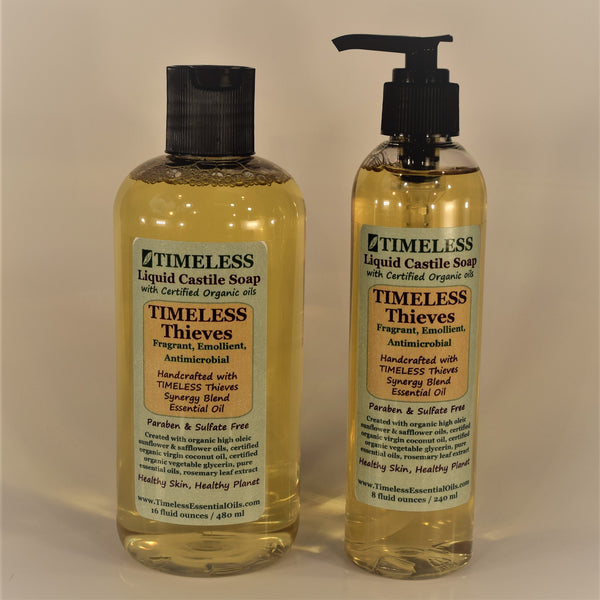 TIMELESS Thieves Organic Liquid Castile Soap