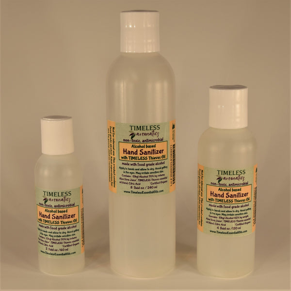 Non-Toxic Hand Sanitizer with TIMELESS Thieves Oil