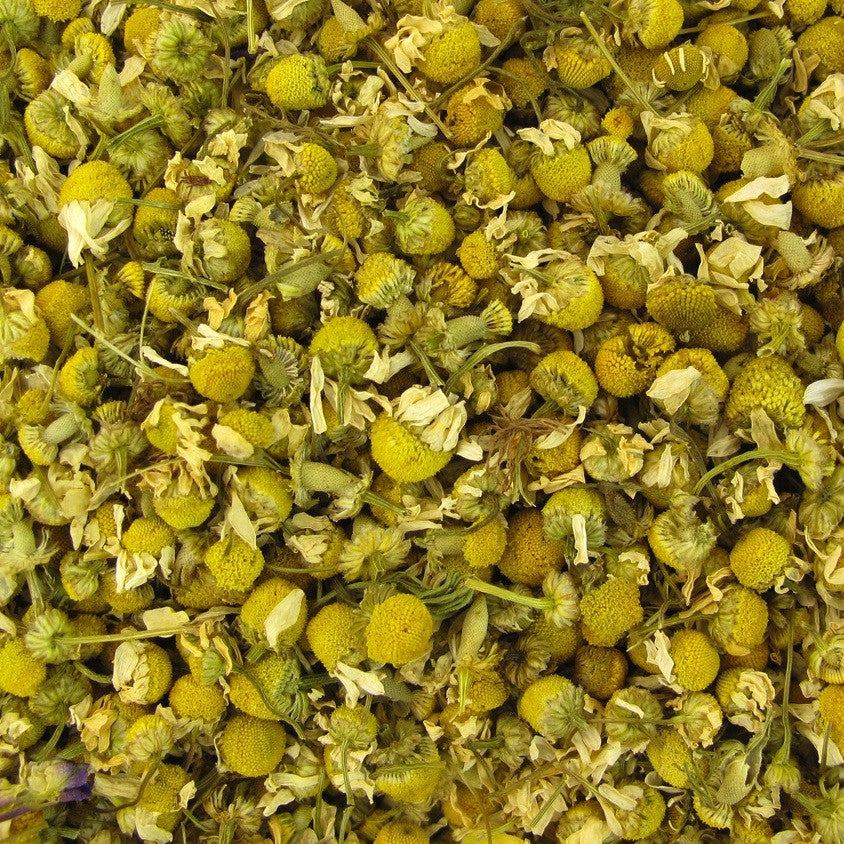 Chamomile flowers, Dried, Certified Organic