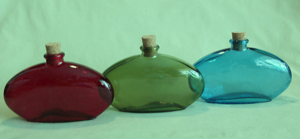 Recycled Glass Reed Diffuser (Egyptian Oval)