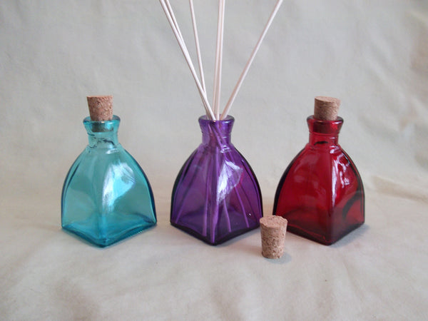 Recycled Glass Reed Diffuser (Diamond)