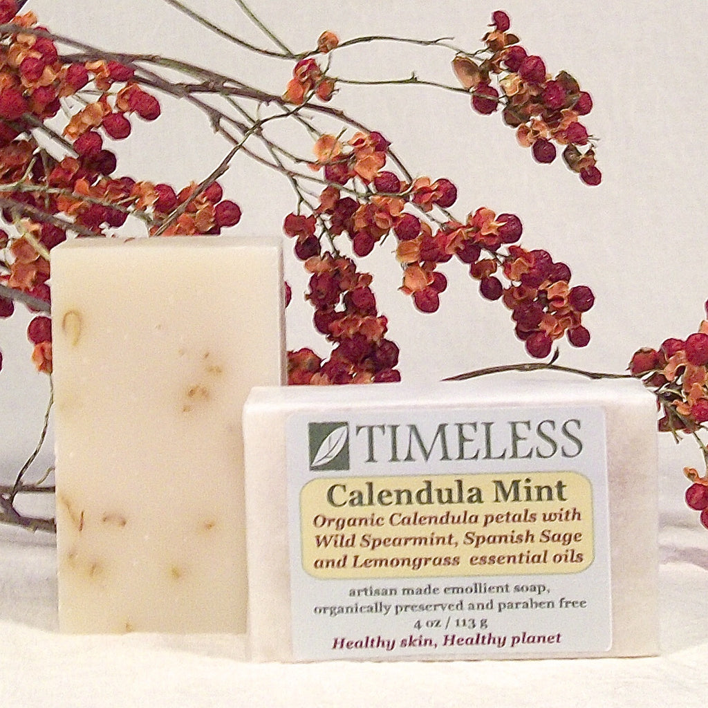 Emollient Bar Soap - Calendula Mint