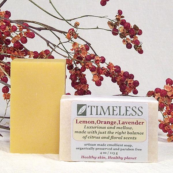 Emollient Bar Soap - Lemon, Orange, Lavender (LOL)