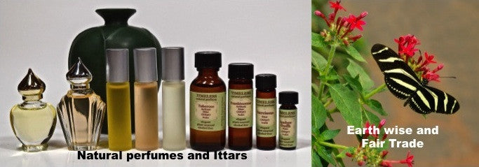 Natural perfumes and Ittars