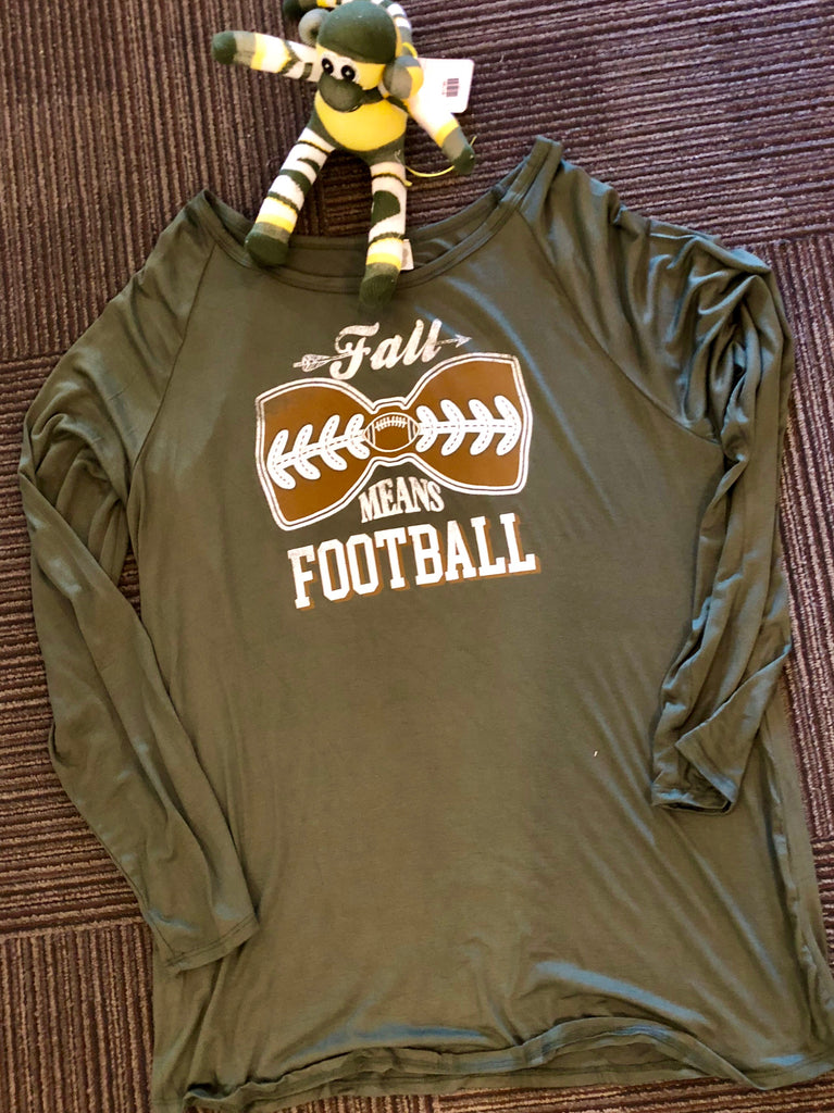 Colorbear plus football top