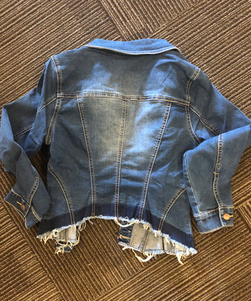 Litz Uniq denim stretch jacket
