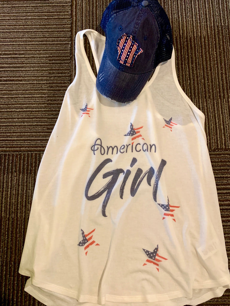 Phil love American Girl tank