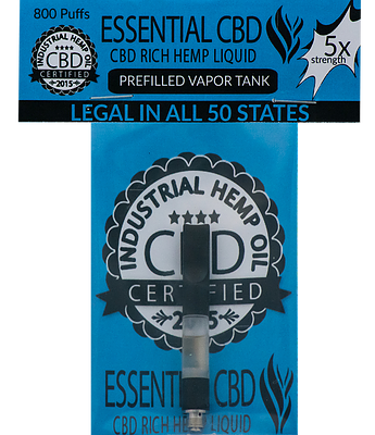 Holistic Hope Essential CBD Pre-Filled Vapor Tank 35mg