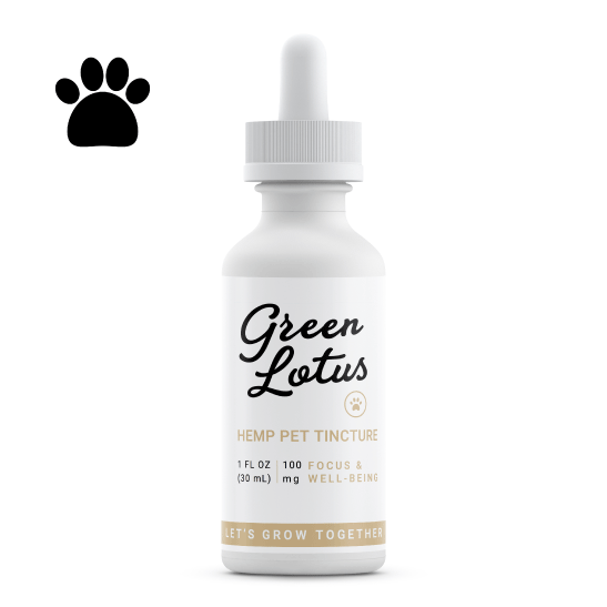 Green Lotus Pet Tincture 100mg
