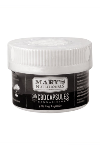 Mary's Nutritionals Elite CBD Capsules 5mg